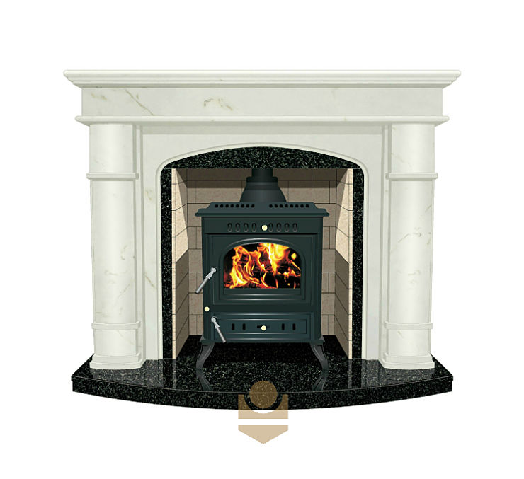 Can you put freestanding stoves in fireplaces?