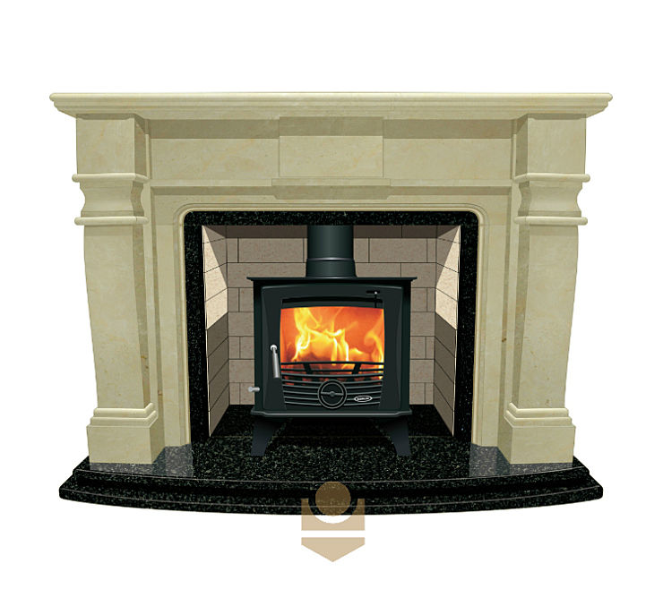 Can you put a freestanding stove in a fireplace?