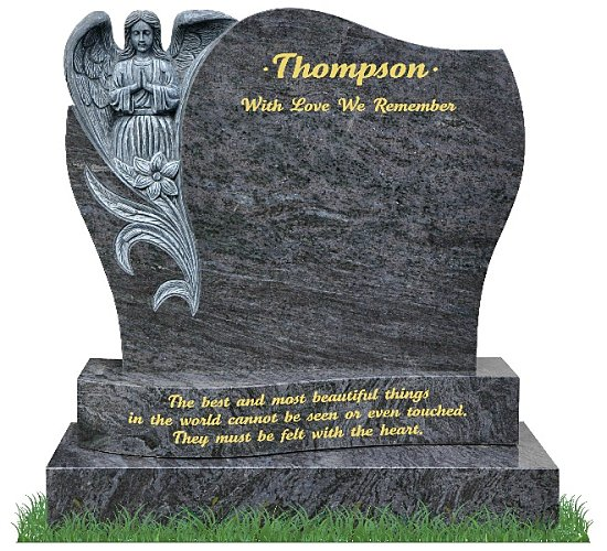 Tombstones with Angelic being
