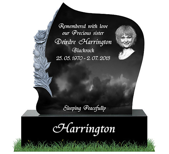 Headstone for a sister