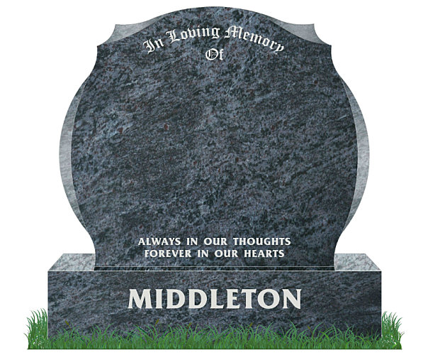 Simple state of the art grave headstones Dublin
