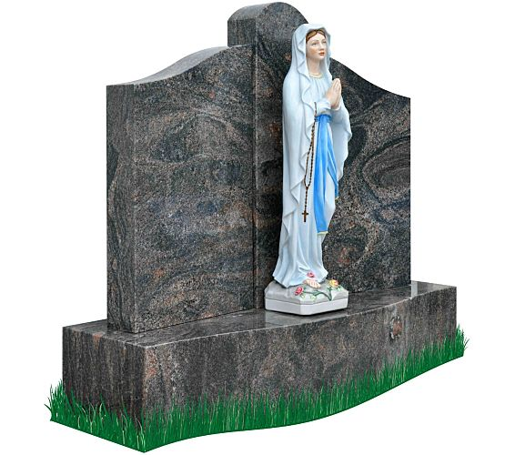 The Blessed Virgin Mary Headstone