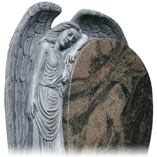 Graveside Angels made from Marble and Granite