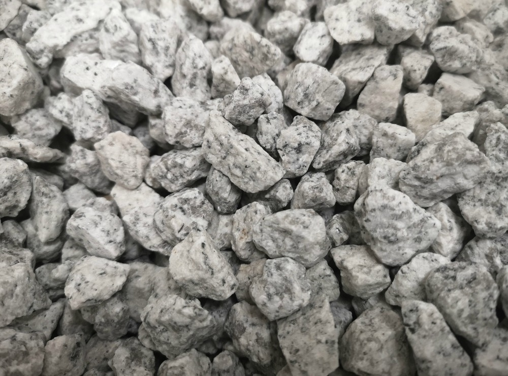 Grey Granite Chippings for inside grave surrounds
