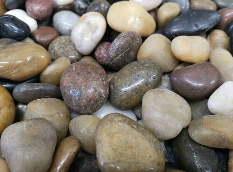 Mixed Stone Pebbles for Graves